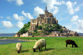 Mont Saint Michel Royalty Free Stock Photography - 13228737