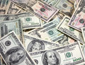 Pile Of American Money Royalty Free Stock Photo - 13235445