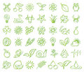 Nature And Environment Icons Royalty Free Stock Photo - 13255835