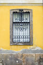 Window On Yellow Wall Stock Images - 13266144