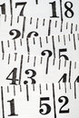 Flat Tailor Centimeter Royalty Free Stock Images - 13291849
