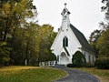 Beautiful Country Church With Steeple IMG_1234 Stock Images - 13295724