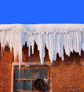 Snow Cover On Roof Royalty Free Stock Photos - 1330438