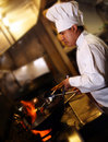 Chef Cooking 2 Royalty Free Stock Photos - 1335068
