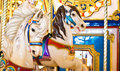 Colorful Carousel Horses Royalty Free Stock Photo - 13309435