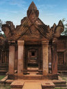 Banteay Srei Temple Near Angkor Wat, Cambodia. Royalty Free Stock Photo - 13314555