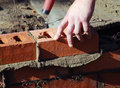 Bricklayer Royalty Free Stock Photo - 13325455