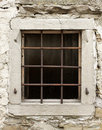 Old Window With Bars Royalty Free Stock Images - 13325939