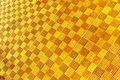 Yellow Geometry Texture Royalty Free Stock Images - 13346919