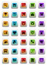 Web Icons Royalty Free Stock Photography - 13376557