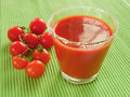 Tomato Juice And Cherry Tomatoes Stock Photo - 13377090