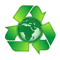 Recycle Earth Royalty Free Stock Images - 13381499