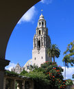 California Tower With Arch, Museum Of Man, Balboa Park, San Diego Stock Photo - 1348660