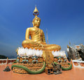 Golden Buddha Statue Royalty Free Stock Photos - 13400978