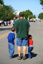 July Fourth Parade Royalty Free Stock Images - 13405039