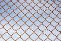 Chain Link Fence Stock Photo - 13428420