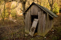 Old Shed In Forest Stock Images - 13432214