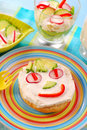 Spring Breakfast For Child Stock Images - 13438144