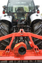 Tractor With Plow Royalty Free Stock Photos - 13441958