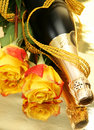 Champagne And Roses Stock Images - 13444654