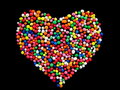 Candy Heart Stock Image - 13450091