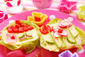 Spring Breakfast For Child Stock Images - 13451184
