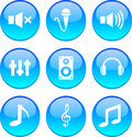 Audio Icons. Stock Photos - 13461523