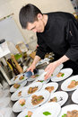 Chef At Work Royalty Free Stock Photography - 13484407