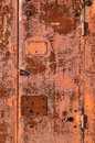Rusty Red Metal Gate Background Royalty Free Stock Photography - 13497457