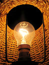 Inside Of Electric Lamp Royalty Free Stock Photo - 1350725