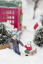Christmas Scene Royalty Free Stock Images - 1353449