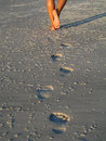 Footprints  Stock Images - 1354064