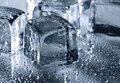 Ice With Water Droplets Stock Image - 13512281