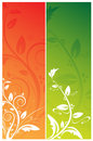 Floral Banners Stock Photo - 13527510