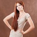 Young Pretty Girl Royalty Free Stock Photo - 13558435