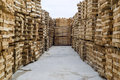Wood In Factory Warehouse Royalty Free Stock Images - 13559989
