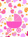 Baby Girl And Butterflies Royalty Free Stock Images - 13575269