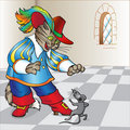 Fairy Tale The Cat In Boots Royalty Free Stock Photography - 13590007