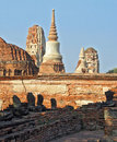 Ruins At The Ancient Capital Of Thailand Royalty Free Stock Photography - 1366637