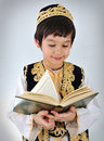 Posetive Kid Muslim Royalty Free Stock Images - 13619939