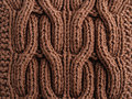 Close-up Of Knitted Cloth Royalty Free Stock Photography - 13628617
