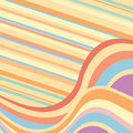 Abstract Background With Multicolored Waves Royalty Free Stock Images - 13643779