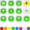 Weather Icons. Stock Images - 13651154