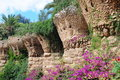 Park Guell In Barcelona, Spain Royalty Free Stock Image - 13659226