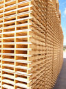Wooden Pallets Royalty Free Stock Photo - 13670085