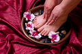 Manicure And Pedicure Stock Images - 13673004
