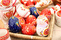 Painted Eggs Royalty Free Stock Photography - 13699707