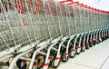 Shopping Carts Royalty Free Stock Photography - 13706277