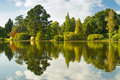 Lake With Reflection Royalty Free Stock Photography - 13732257