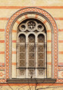 Window Of The Budapest Great Synagogue, Budapest Royalty Free Stock Photography - 13744407